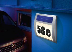 Solar Hausnummer