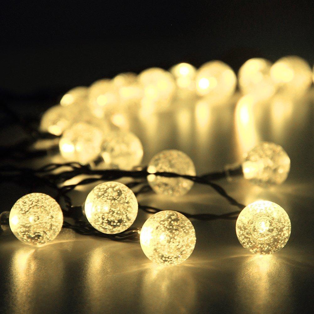 led lichterkette solar außen