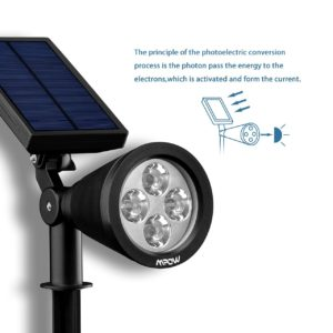 Solar Wegeleuchte Mpow